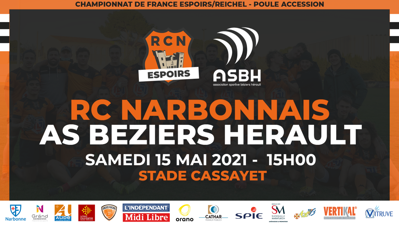 Composition d'Equipe Espoirs RCN-ASBH 15 05 2021
