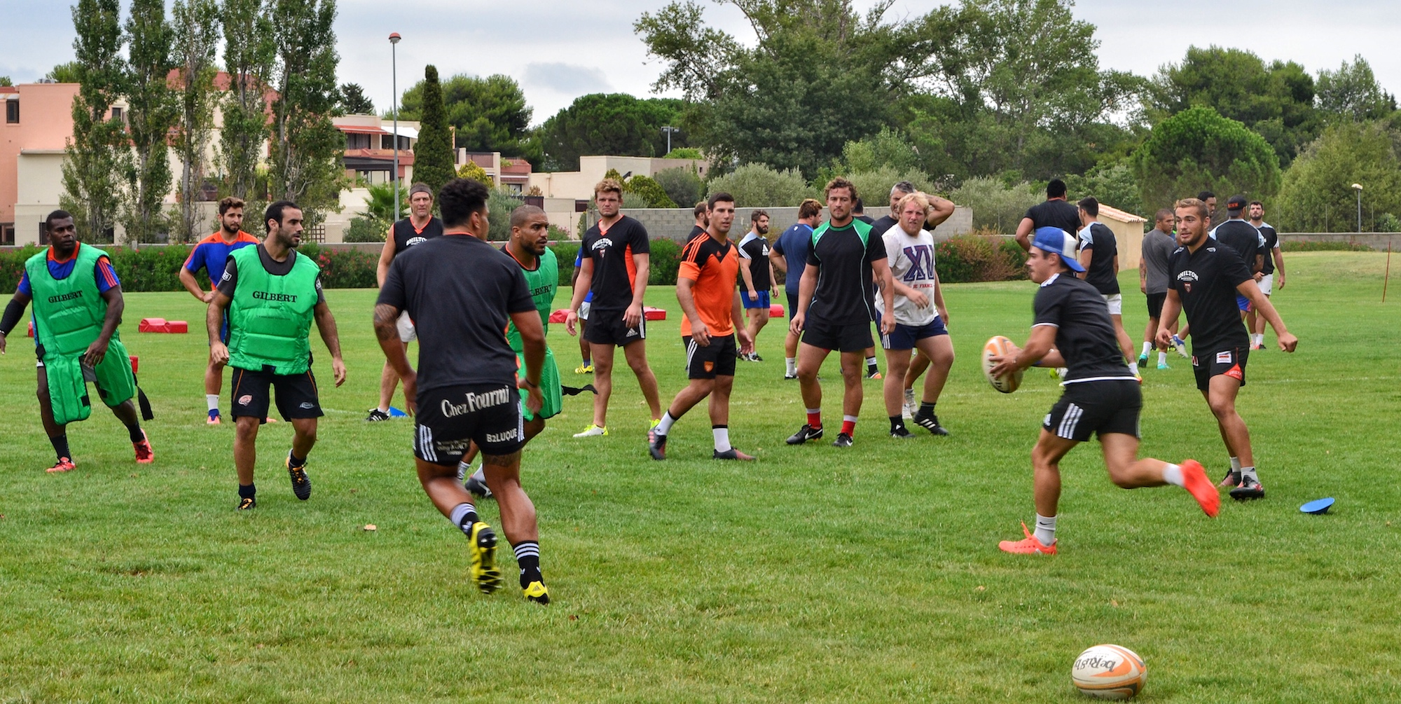 Planning des entraînements semaine du 7 août