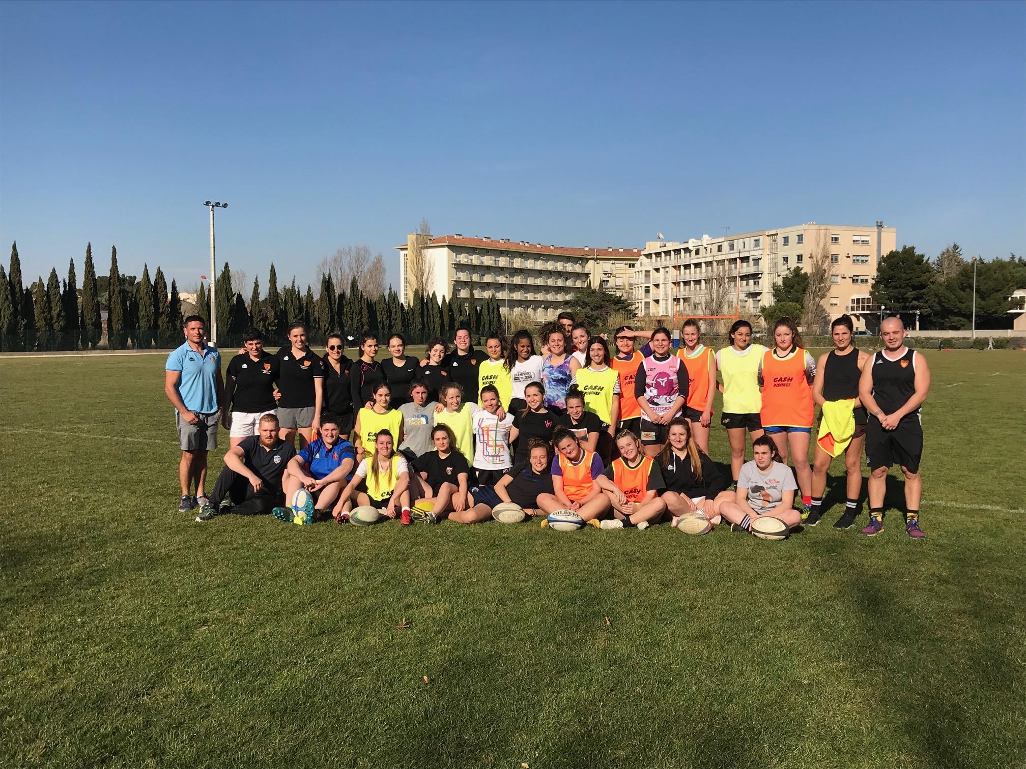 Atelier Rugby Feminin