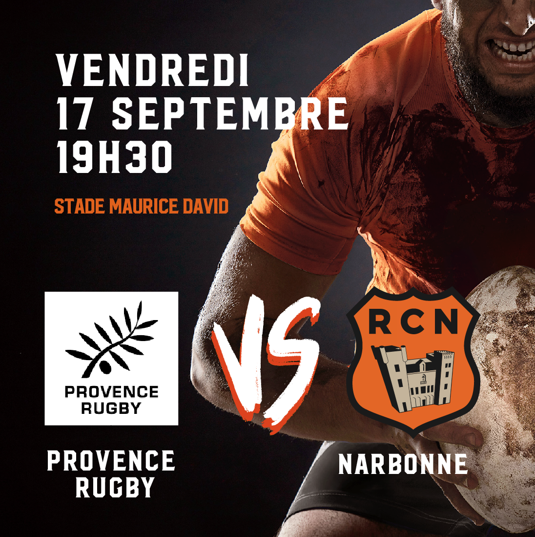 COMPOSITION PROVENCE RUGBY – RC NARBONNAIS
