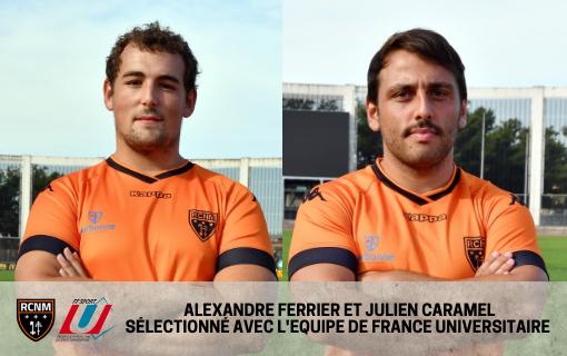 Deux Narbonnais en équipe de France Universitaire.