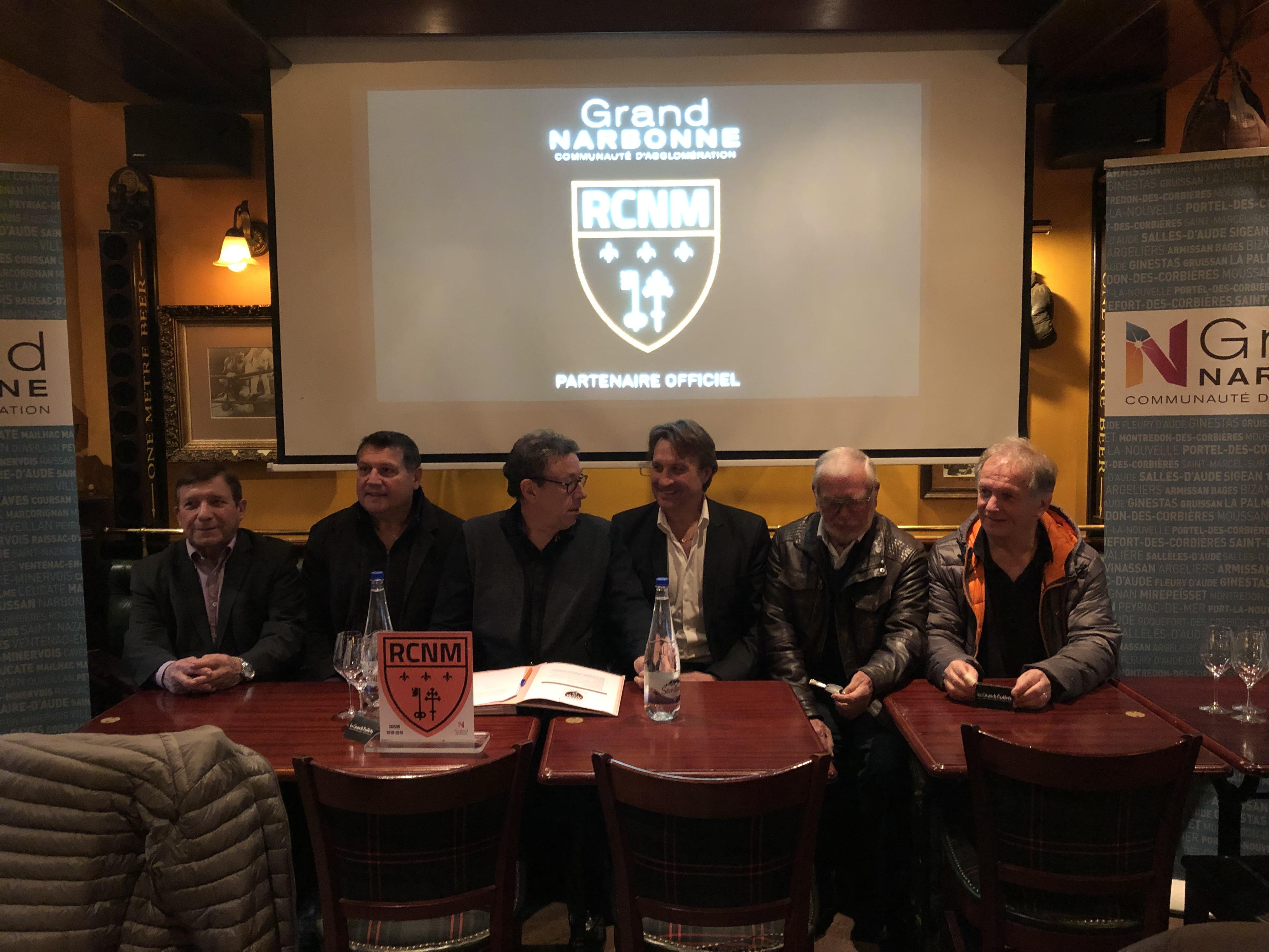 Partenariat entre Le Grand Narbonne et le RCNM