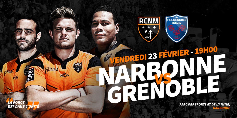 La composition de l'équipe pour le match de Grenoble